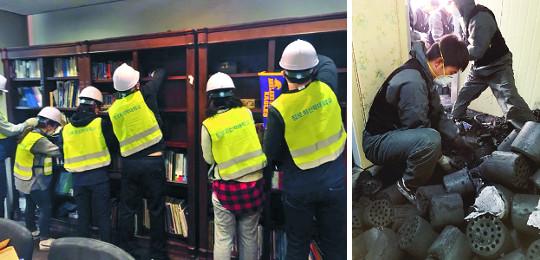 장신대 학생들, 지진 피해 한동대서 복구 구슬땀 기사의 사진