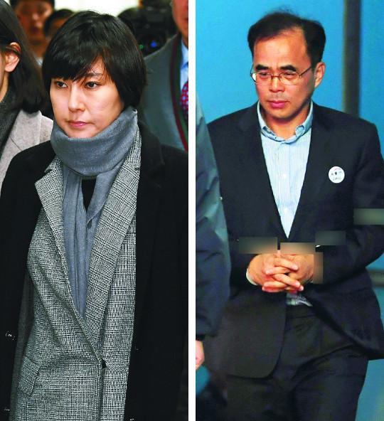'특검 도우미' 장시호 법정구속… 구형보다 형량 높아 기사의 사진
