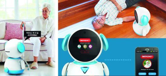 [And 건강]  치매환자 돌보는 로봇 곧 등장 기사의 사진
