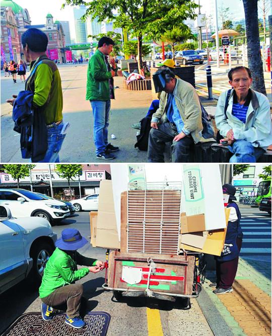 """[사랑을 나누는 사람] """"타기 지겹던 오토바이가 이젠 길거리 사역 도구로 오늘도 말씀 싣고 누벼요"""" 기사의 사진"""