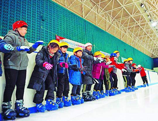 스케이팅·빙벽… 도심서 '평창' 기분 내볼까 기사의 사진
