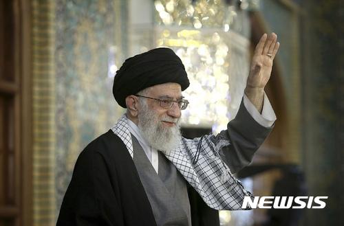 """""""핵합의 파기하면 우라늄 농축 재개"""" 이란, 트럼프 압박 기사의 사진"""
