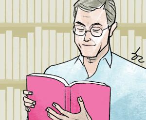 [한마당-정진영] 책 읽는 대통령 기사의 사진