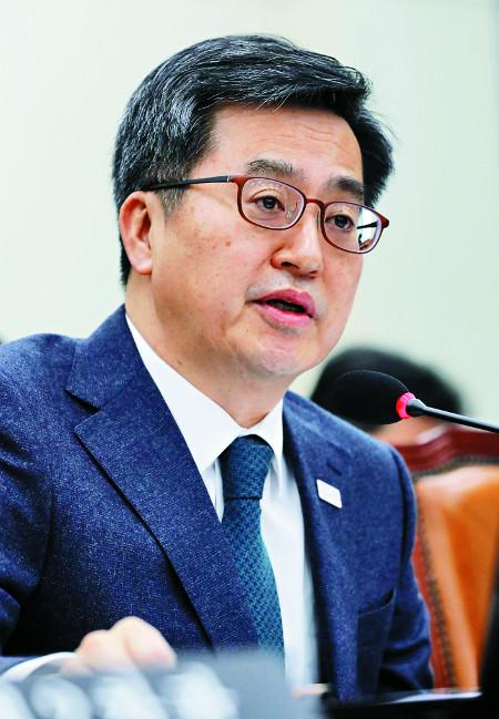 """김동연 """"가계부채 증가율 한 자릿수 관리 중"""" 기사의 사진"""