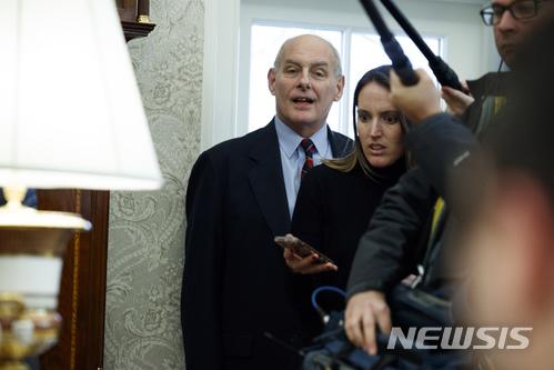 백악관 또 가정폭력 스캔들… 켈리 비서실장에 '불똥' 기사의 사진