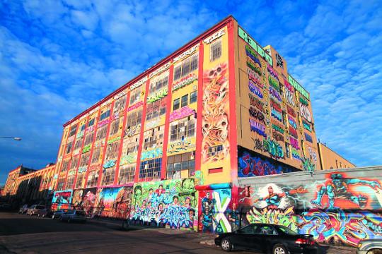 뉴욕 그라피티 성지를 허문 건물주에 거액 배상 판결 기사의 사진