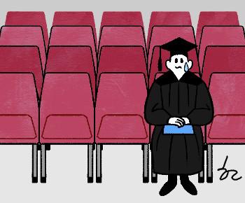 [한마당-정진영] 우울한 대학졸업식 기사의 사진