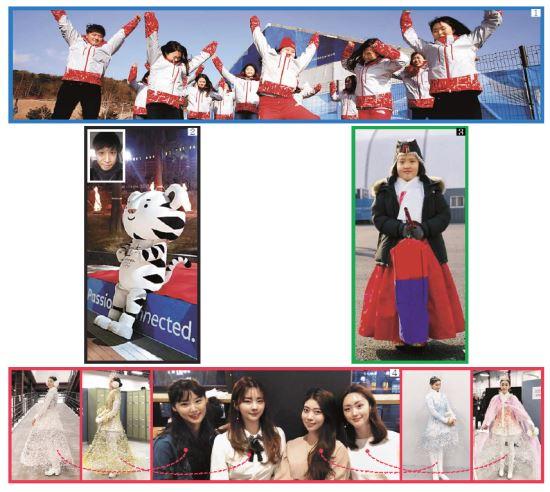 [And 스페셜] 열정으로 한 땀 한 땀 '평창의 추억' 새기다… 주변인 '자랑'된 올림픽 도우미들 기사의 사진