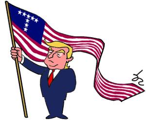 美 백인 기독여성 트럼프 지지율 1년 새 13%P 하락 기사의 사진