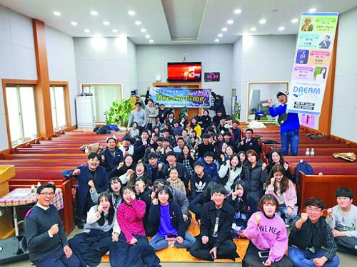 평균 연령 가장 높은 경북 의성  3년째 울려퍼지는 10대들 찬양 기사의 사진