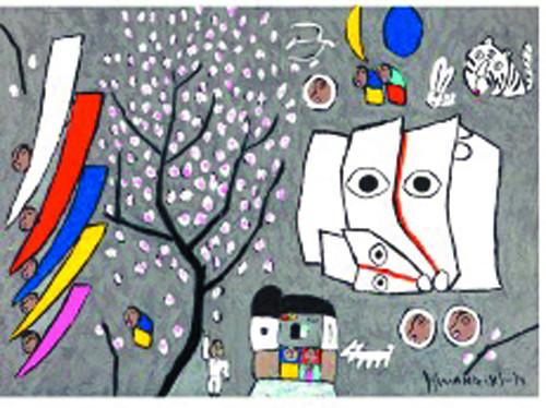[미술산책] 흰 소, 이 땅의 가족이야기 기사의 사진