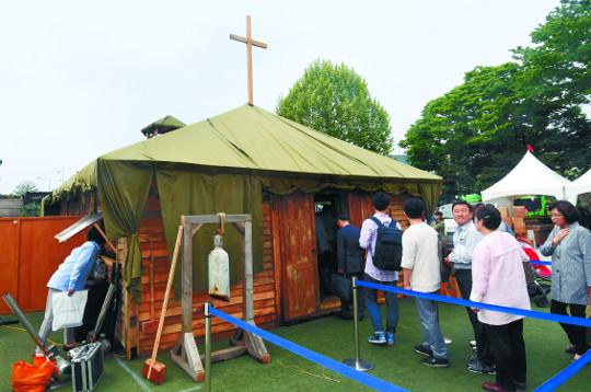여의도순복음교회의 기적 이 천막교회에서 시작됐다 기사의 사진