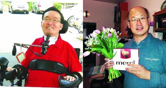 꼼짝할 수 없는 친구와 나눈 특별한 우정… 전신마비 장애인 윤석언씨·박수민 폴란드 선교사 기사의 사진