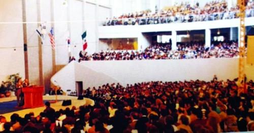 [여의도순복음교회 60주년] 홍콩·아르헨·브라질서 사상 최대 성회… 땅끝까지 뻗어나가다 기사의 사진