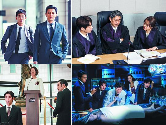 막말 판사·조폭 변호사·고지식한 법의학자… '법정드라마' 전성시대 기사의 사진