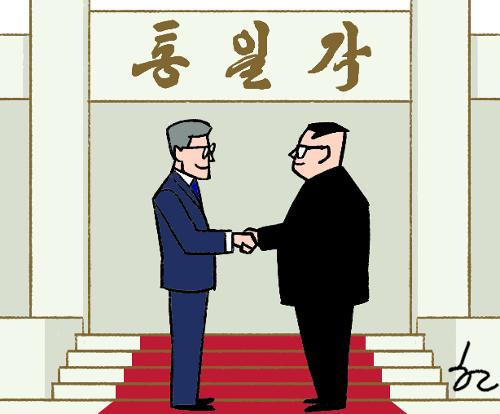 [한마당-김영석] 통일각 기사의 사진
