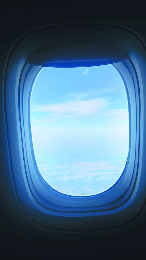 [별별 과학] 대칭성과 비행기 창 기사의 사진