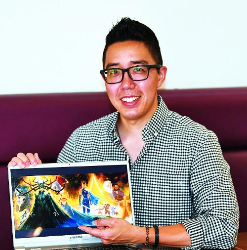 [미션&피플] 마블사의 유일한 한국계 비주얼 개발 총괄책임자 앤디 박 기사의 사진