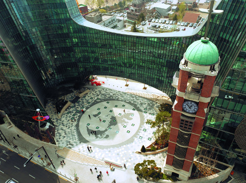 사랑의교회 시계탑·선큰광장 등 미국 SEGD 디자인 어워드 수상 기사의 사진