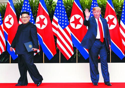 2차 회담 9월 열릴 가능성… 장소는 백악관에 무게 기사의 사진