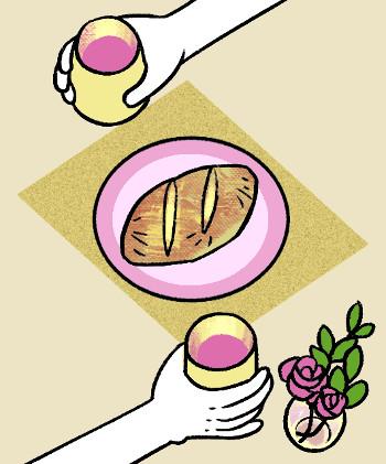 [교회용어 바로 알기] 애찬식(愛餐式) 기사의 사진