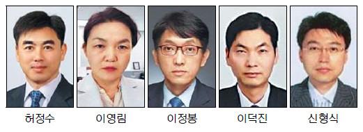 대검, 허정수·이영림 등 2018년 상반기 우수 형사부장검사 5명 선정 기사의 사진