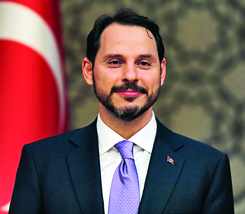 에르도안 '제왕적 대통령' 취임 기사의 사진