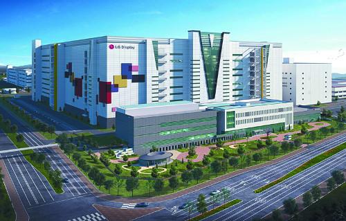 중국, 5조 규모 LG디스플레이 광저우 OLED 공장 건설 승인 기사의 사진