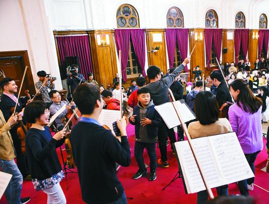 서울시향, 발달장애아동 위한 연주회 정례화 기사의 사진