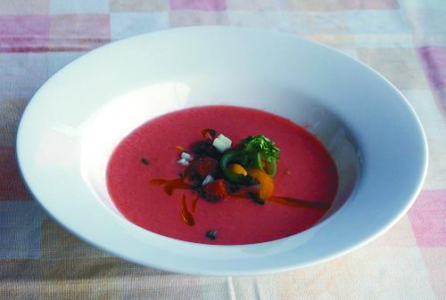 [홍익희의 음식이야기] 스페인 보양식, 가스파초 기사의 사진