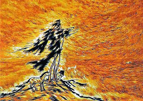 [미술산책] '폭풍의 화가'의 외로운 자화상 기사의 사진