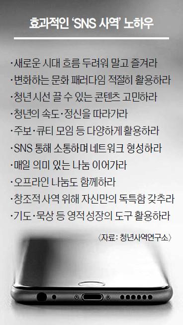 """""""노방전도보다 SNS 사역이 효과적인 시대"""" 기사의 사진"""
