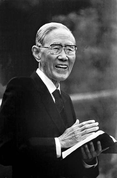 [신사참배 결의 80년, 이젠 회개다] 한경직 목사, 1992년 첫 공개적 회개 기사의 사진