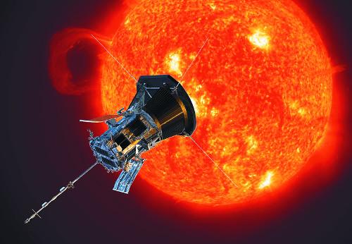 [별별과학] 태양을 향한 현대의 이카루스 기사의 사진