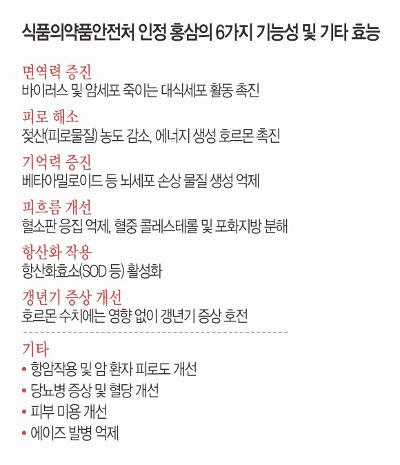[And 건강] 피로 잡는 '슈퍼 푸드' 홍삼, 출혈 환자는 조심 기사의 사진