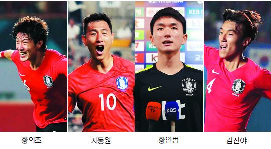 K리그 유스팀 아이들, 한국 축구 짊어진다 기사의 사진