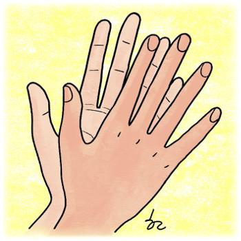 [겨자씨] 손가락 찬가 기사의 사진