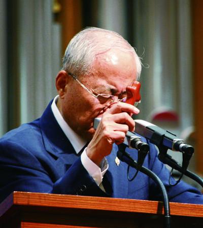 [역경의 열매] 김선도 <34> 43년 목회 마무리 앞두고 리더십 승계 문제 고심 기사의 사진