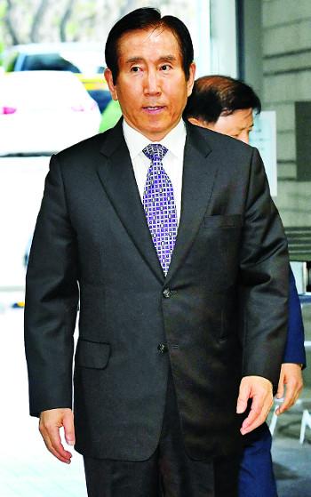 [포토] 조현오 前 경찰청장 영장실질심사 기사의 사진