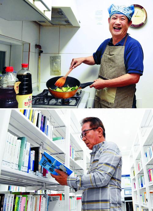[앵글속 세상] 평균 나이 68.2세 '할배돌'의 인생 2막 기사의 사진