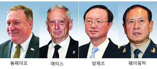 美·中 9일 외교안보대화… 무역·남중국해 테이블 위에 기사의 사진