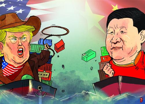 민주당도 중국엔 강경, 미·중 무역전쟁, 트럼프 뜻대로 계속 기사의 사진