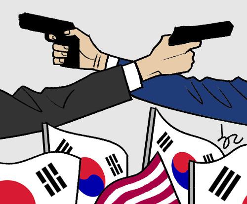 [한마당-지호일] 탄핵 논쟁을 묻을 때 기사의 사진