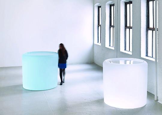 [미술산책] 빙하를 닮은 유리조각 기사의 사진