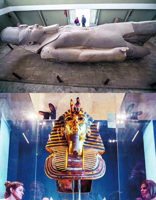 나일강 유역 고대 문명의 찬란한 위엄 기사의 사진