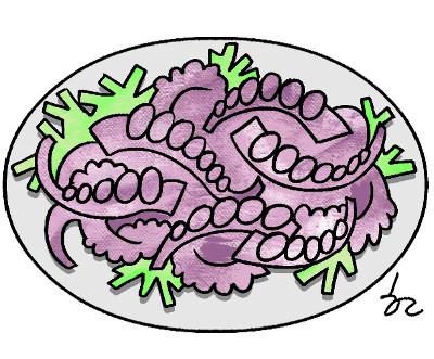 [한마당-이흥우] 산낙지 먹기 기사의 사진