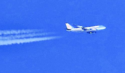 항공기 애호가 '매의 눈'에 꼬리 밟힌 에어포스원 기사의 사진