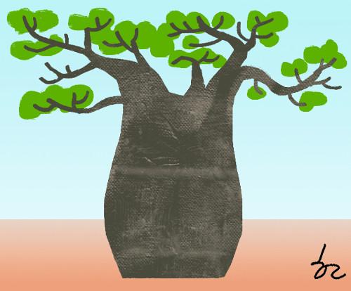 [한마당-라동철] 바오밥나무 돌연사 기사의 사진