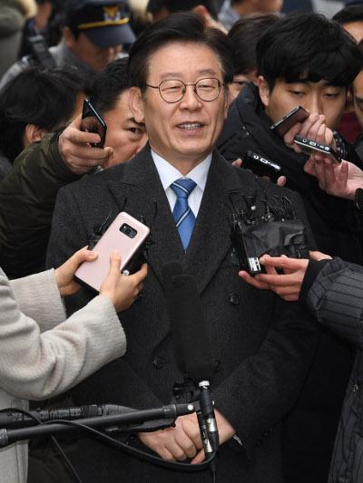 """이재명 지사 첫 재판… """"합리적 결론 확신"""" 기사의 사진"""