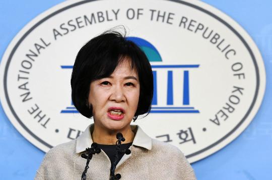 반성커녕 '좌충우돌 회견'… 불지르는 손혜원 기사의 사진